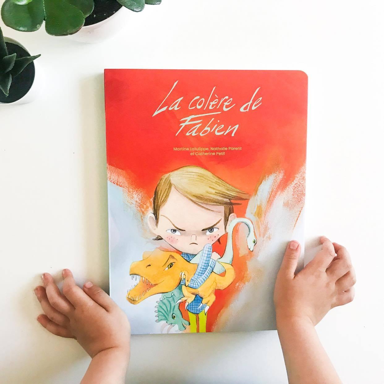 LA COLÈRE DE FABIEN, Guy St-Jean éditeur