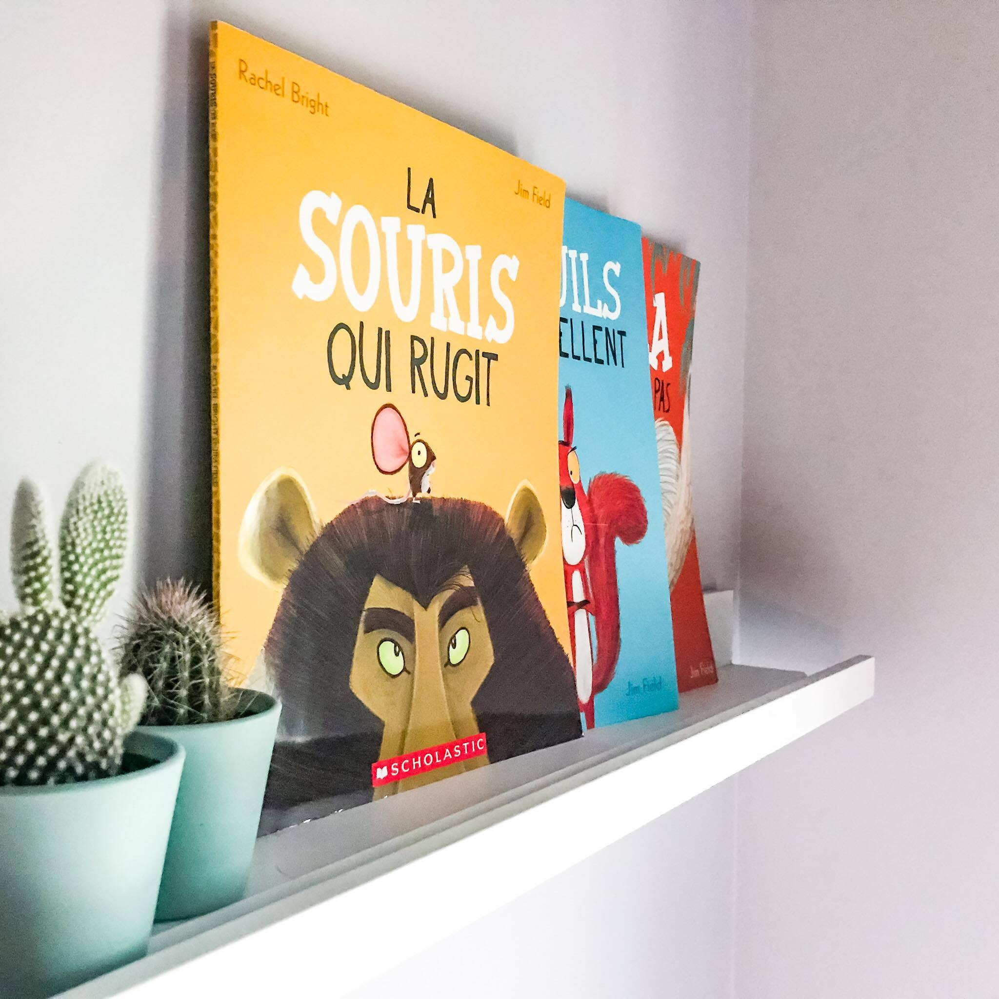 LA SOURIS QUI RUGIT, Scholastic