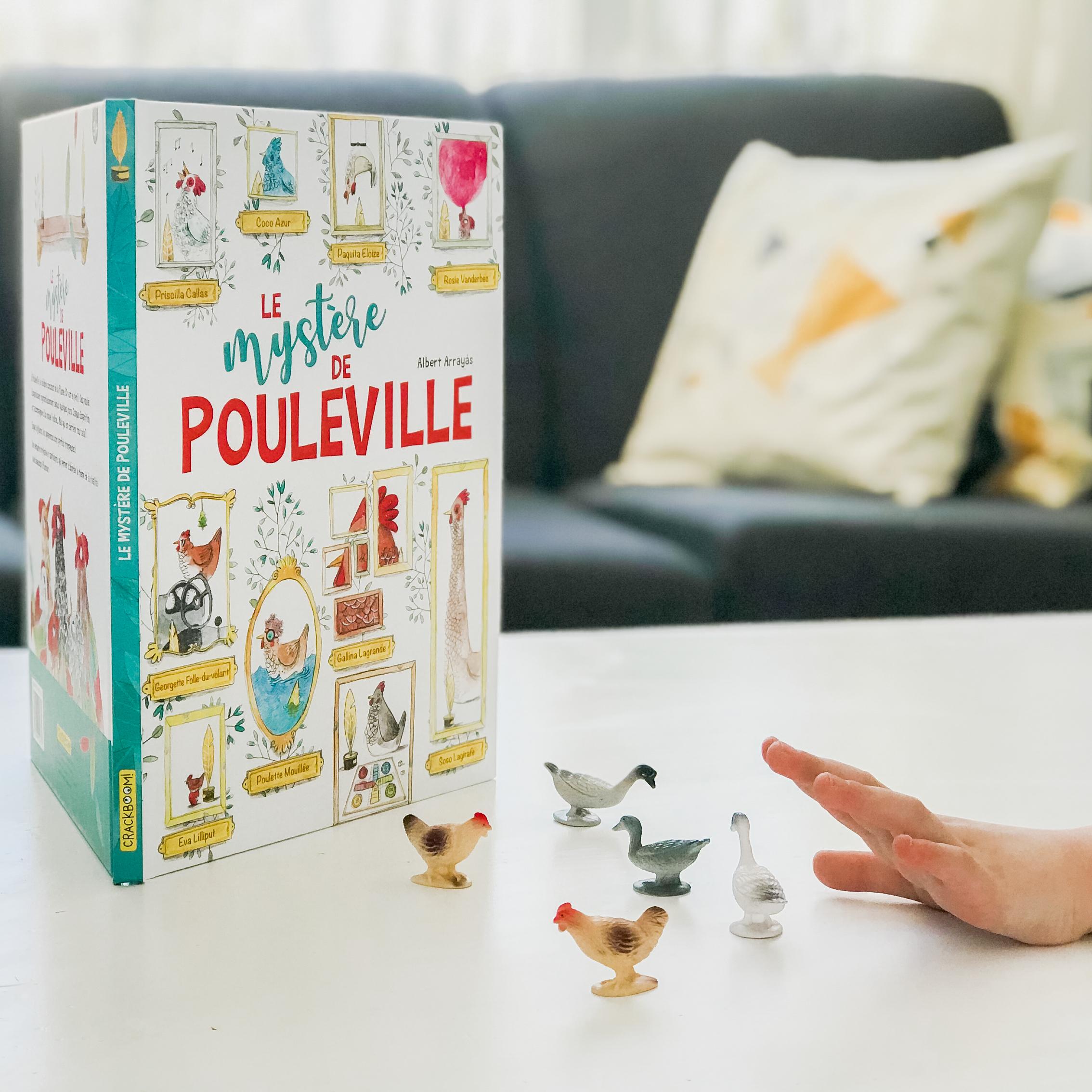 LE MYSTÈRE DE POULEVILLE (Crackboom)