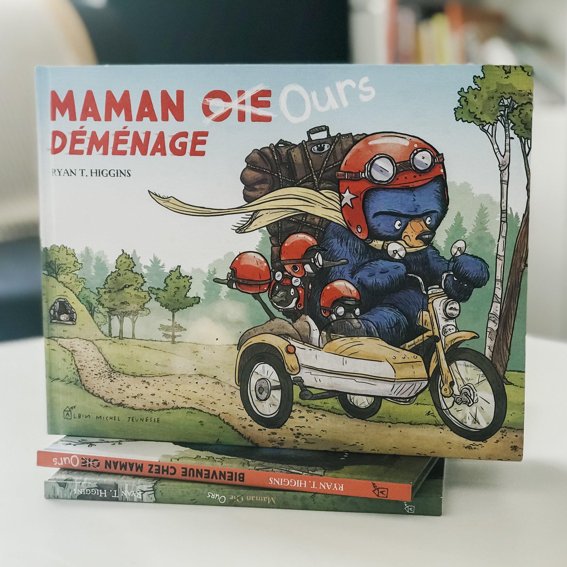 Maman ours déménage