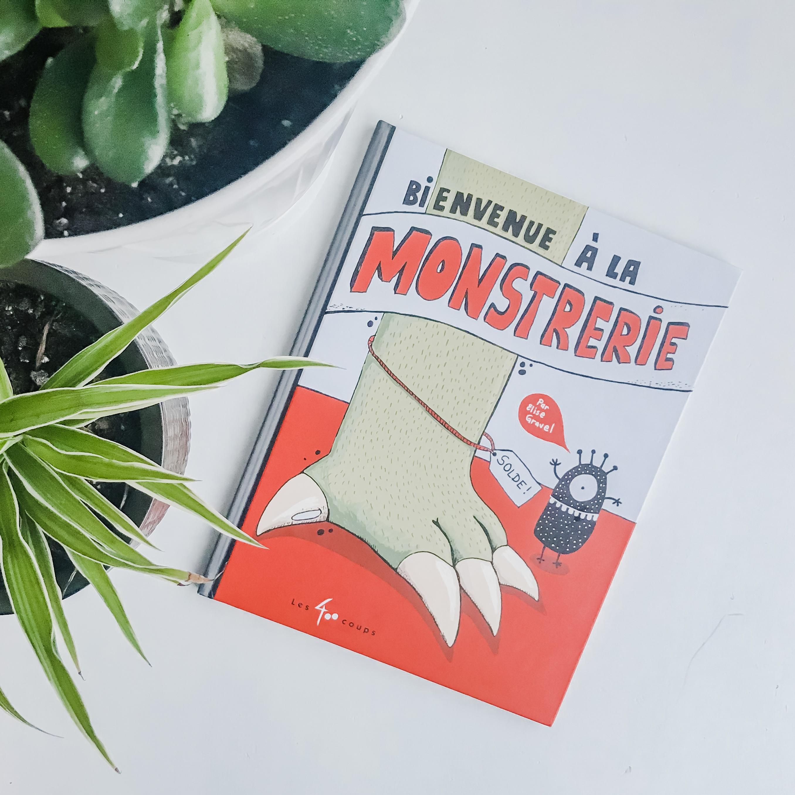 BIENVENUE À LA MONSTRERIE, Scholastic