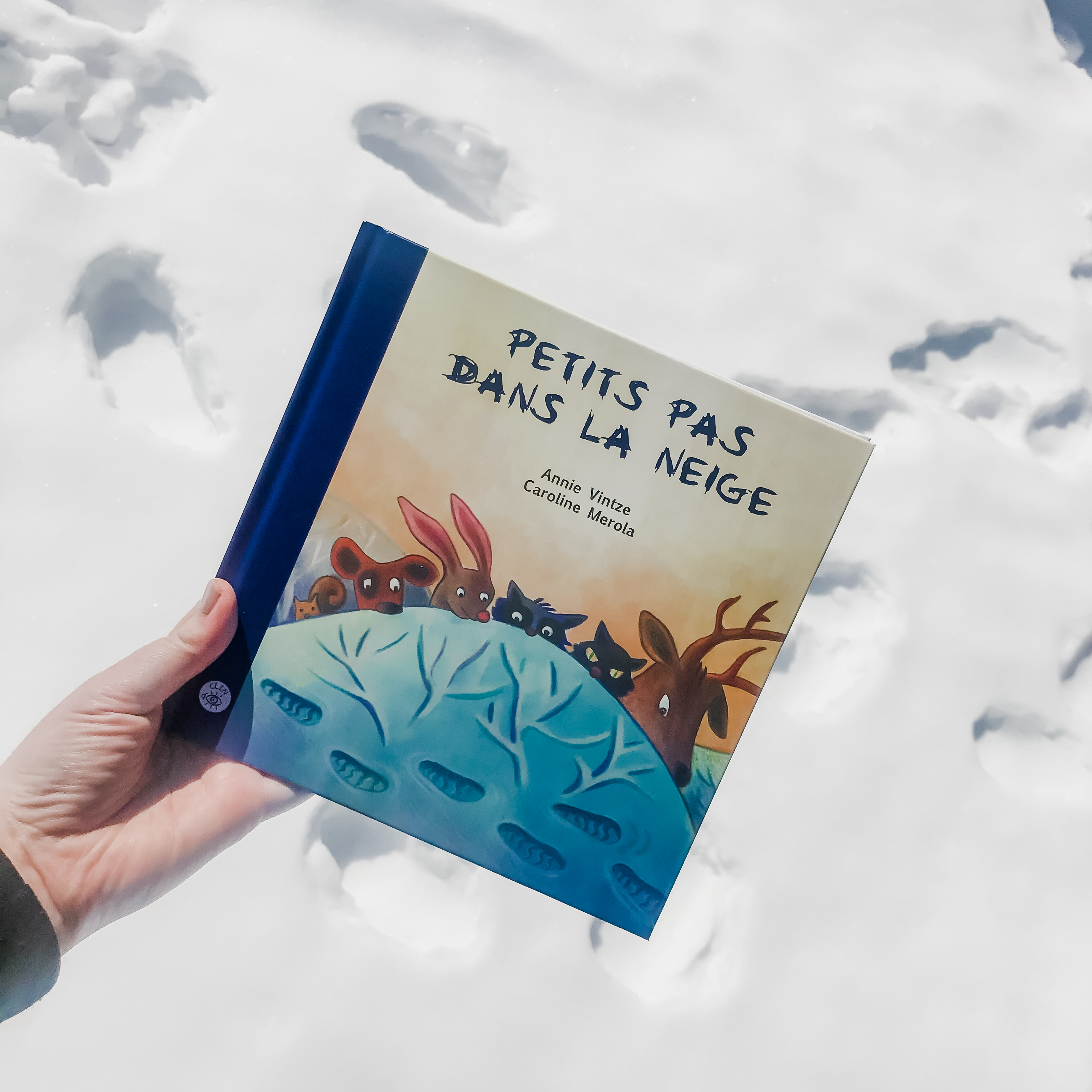 Petits pas dans la neige (Isatis)